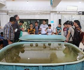 بازدید علمی اعضای مراکز کانون گرگان از دانشگاه علوم کشاورزی و منابع طبیعی