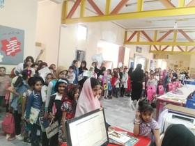 صف امانت کتاب در مرکز فرهنگیهنری مجتمع زاهدان(سیستان و بلوچستان)