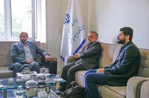 جلسه مشترک مدیر کل کانون و رییس سازمان برنامهریزی استان آذربایجان برگزار شد