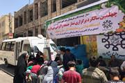 برگزاری ایستگاه نقاشی و ادبی در نماز جمعه