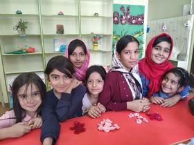 گزارش تصویری کارگاه کاردستی مرکز شیروان