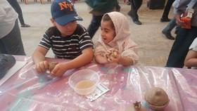 حضور کانون پرورش فکری یزد، در نمازجمعه – مسجدملااسماعیل- مرداد98