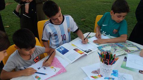 فصل گرم کتاب در مراکز کانون کردستان