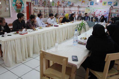 نشست هم اندیشی انجمن کتابداری شاخه فارس و کانون پرورش فکری کودکان و نوجوانان
