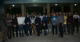 مرکز علوم ونجوم کانون زنجان شگفتی های آسمان شب را به دانش آموزان قرآنی نشان داد