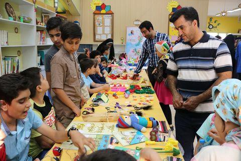افتتاح نمایشگاه توانمندیهای اعضا و والدین