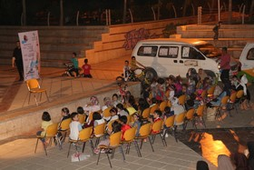 اجرای برنامه توسط کانون فارس در پارک شقایق شیراز