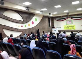 برگزاری جشن قصه گویی در مرکز شماره یک کانون پرورش فکری اسلام آباد غرب