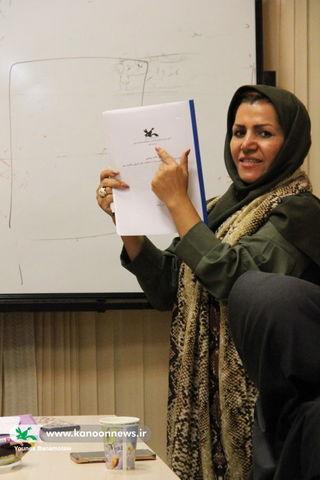 گام سوم از کارگاه فرآیندی اقدام پژوهی مربیان کانون استان تهران
