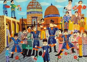 دو دیپلم افتخار مسابقه نقاشی مونتانا بلغارستان در سال ۲۰۱۸ سهم کانون استان اردبیل
