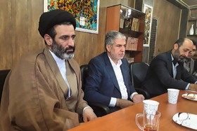 نمایندگان مجلس شورای اسلامی میهمان کانون پرورش فکری کرمانشاه شدند