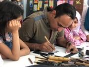 برگزاری کارگاه خوشنویسی در مراکز فرهنگیهنری هیرمند و شماره یک زابل(سیستان و بلوچستان)