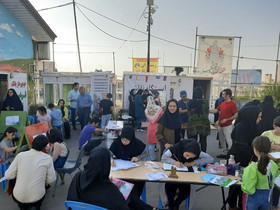 معرفی میراث ماندگار شهر یِری با برپایی کارگاه نقاشی و خوشنویسی