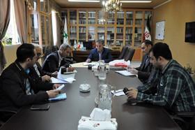 نشست هماندیشی مدیرعامل انجمن حمایت از زندانیان با مدیرکل کانون استان اردبیل