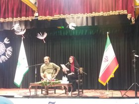 راهیبابی عضو انجمن ادبی کانون هرمزگان به مهرواره داستان آفرینش