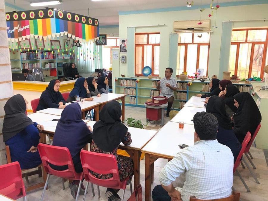 کارگاه آموزشی سفالگری در کانون مازندران برگزار شد