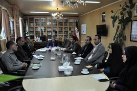 نشست مشترک مدیرکل کانون استان اردبیل و مسئولان باشگاه خبرنگاران جوان