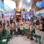 شعرخوانی اعضای کانون پرورش فکری شهرستان بندرترکمن در نکوداشت روز دریای خزر