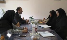 دیدار مدیر باشگاه خبرنگاران جوان با مدیرکل کانون استان قزوین