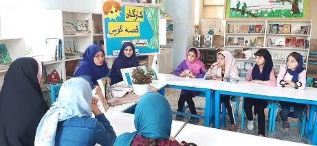 استقبال اعضا و خانوادهها از کارگاه آموزش مهارتهای قصهگویی