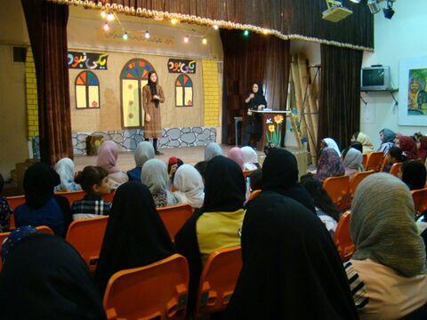 جشن قصه گویی مرکز فرهنگی هنری کاشمر