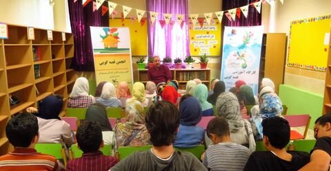 گزارش تصویری برگزاری کارگاههای آموزشی قصه گویی برای اعضای مراکز فرهنگی و هنری کانون استان قزوین