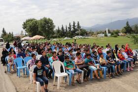 حضور کاروان«پیک امید» و« تماشاخانه سیار» کانون در مناطق کم برخوردار گیلان-  شهرستان ماسال