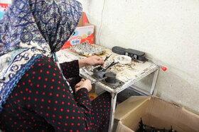 اردوی بازدید اعضای مرکز 37 از کارخانه اسباب بازی/ عکس از یونس بنامولایی