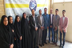 گزارش تصویری از دیدار مدیرکل کانون پرورش فکری استان سمنان با خبرنگاران