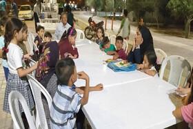 ایستگاه پنجم و ششم پویش فصل گرم کتاب در پارک شقایق سمنان به قلم دوربین