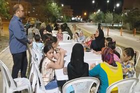استقبال کودکان سمنانی از ایستگاه ششم کتابخوانی