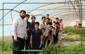 گزارش تصویری بازدید اعضای علمی مرکز شماره ۸ قم از مرکز تحقیقات جهاد کشاورزی
