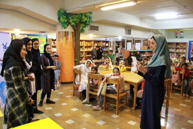 جشن قصه گویی مرکز شماره 43 کانون استان تهران /عکس از یونس بنامولایی