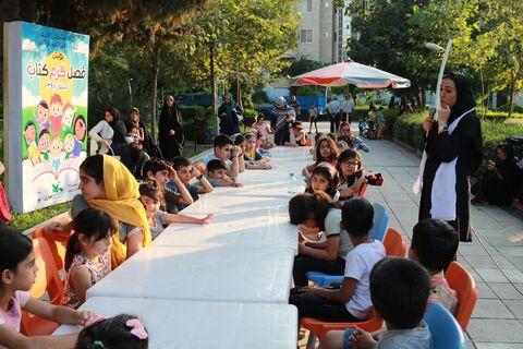 پنجمین برنامه پویش فصل گرم کتاب در بوستان آفتاب ساری