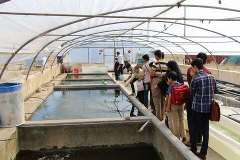 گزارش تصویری بازدید از مرکز تحقیقات جهاد کشاورزی قم