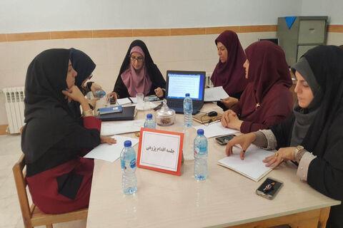 برگزاری جلسهی اقدامپژوهی در کانون سمنان