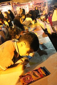 پنجمین پویش فصل گرم کتاب در پارک ساحلی یاسوج/ گزارش تصویری
