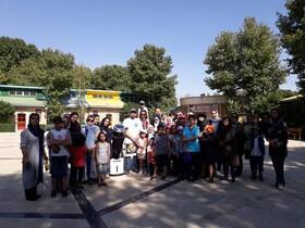 اردوی اختر زیست شناسی در اردوگاه امام علی(ع) کرج
