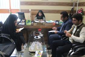 نشست مشترک مدیرکل کانون استان کهگیلویه و بویراحمد و مسئولان باشگاه خبرنگاران جوان