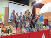 جشن قصه گویی ویژه کودکان و نوجوانان زیر ۱۲ سال در مرکز شماره یک اسفراین برگزار شد