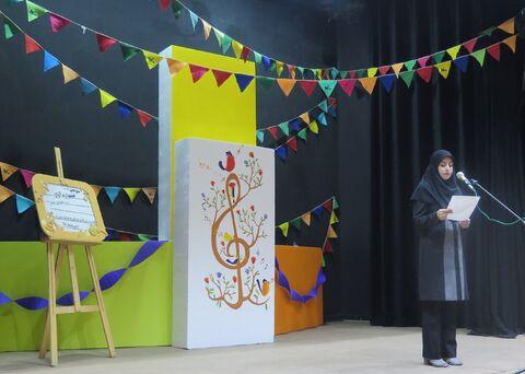 گزارش تصویری برگزاری سومین جشنواره استانی آوازهای کودکانه-2