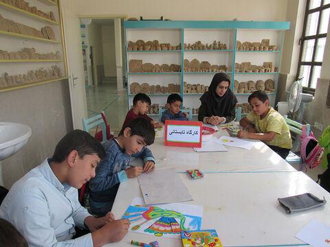 تابستان شاد در مراکز فرهنگی هنری کانون استان اردبیل