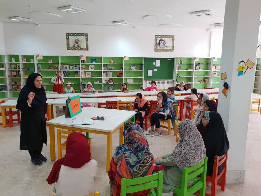 استقبال مراکز فرهنگی هنری کانون مازندران از جشنواره قصهگویی
