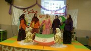 «جشن قصه گویی کتابخانه ای»مرکز اردستان 1 برگزار شد