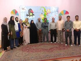 مرحله کتابخانه ای جشنواره بین المللی قصه گویی در نایین برگزار شد