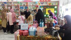 بازارچه فرهنگی و هنری در کانون لاهیجان برپا شد