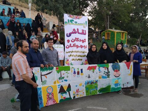 حضور تاثیرگذار کانون در کنار بیست ودومین جشنواره تولیدات رسانهی مراکز استانها در استان خراسان شمالی