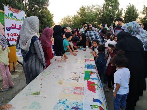 حضور موثر کانون در کنار بیست ودومین جشنواره تولیدات رسانهی مراکز استانها در استان خراسان شمالی