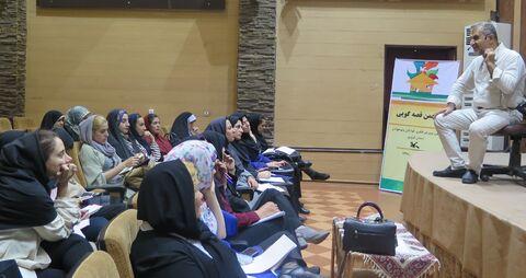 کارگاه قصهگویی تعاملی در کانون استان قزوین