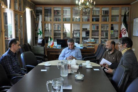 نشست تخصصی مدیرکل کانون استان اردبیل با مسئول انجمن سینمای جوان